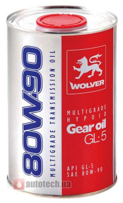 wolver multigrade hypoid gear oil gl 5 80w 90. Black Bedroom Furniture Sets. Home Design Ideas