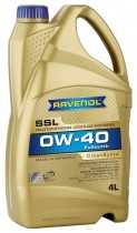 RAVENOL Super Synthenik Oel SSL 0W-40 API SN/CF