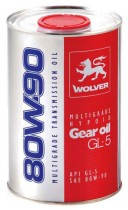 WOLVER WOLVER Multigrade Hypoid Gear Oil GL-5 80W-90