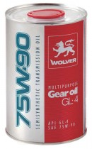WOLVER WOLVER Multipurpose Gear Oil GL-4 75W-90