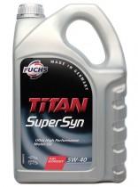 Fuchs TITAN SUPERSYN 5W-40 4 л.