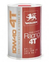 Wolver Four Stroke RACING 4T 10W-40 1 л.