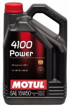 Моторное масло Motul 4100 Power 15W-50