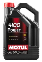Motul 4100 Power 15W-50 5 л.