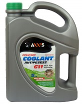 Антифриз Axxis Coolant Green G11 зеленый 5 кг.