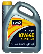 YUKO SUPER GAS 10W-40 4 л.