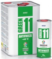 Антифриз для двигателя XADO Antifreeze Green 11 -40⁰С