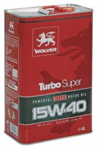 WOLVER Turbo Super 15W-40 4 л.
