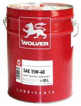 WOLVER Turbo Super 15W-40 20 л.