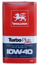 WOLVER Turbo Plus 10W-40 5 л.