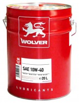 WOLVER Turbo Plus 10W-40 20 л.