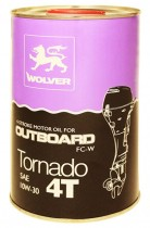 WOLVER Tornado 4T Outboard 10W-30