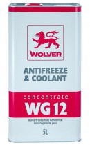 Антифриз Wolver Antifreeze & Coolant WG12 Concentrate красный
