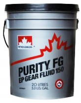 Petro-Canada Purity FG EP Gear Fluid 150