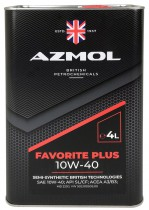 Моторное масло Azmol Favorite Plus 10W-40