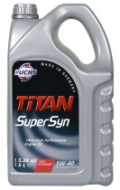 Fuchs TITAN SUPERSYN 5W-40 5 л.