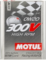 Motul 300V High RPM 0W-20
