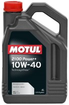 Motul 2100 Power+ 10W-40 4 л.