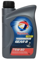 Total Transmission Gear 8 75W-80 1 л.