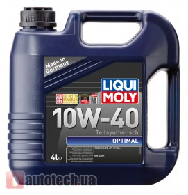 Liqui Moly Optimal 10W-40 (арт. 3930) 4 л. - Фото 2