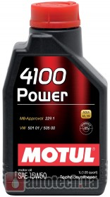 Motul 4100 Power 15W-50 1 л.