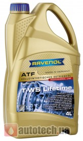 RAVENOL ATF T-WS Lifetime 4 л. - Фото 2