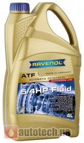 RAVENOL ATF 5/4 HP Automatik-Getriebeol Fluid 4 л. - Фото 2