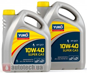 YUKO SUPER GAS 10W-40 - Фото 2