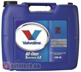Valvoline All Fleet Superior LE 10W-40 20 л.