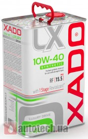 XADO Luxury Drive 10W-40 Synthetic - Фото 2
