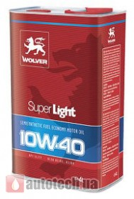 WOLVER Super Light 10W-40 4 л.