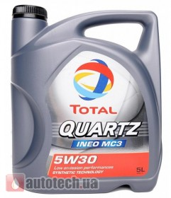 Total Quartz INEO MC3 5W-30 - Фото 2