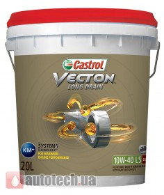 Castrol VECTON LONG DRAIN 10W-40 LS 20 л. - Фото 2