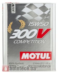 Motul 300V Competition 15W-50 2 л.