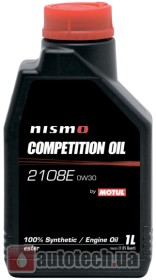 Motul Nismo Competition Oil 2108E 0W-30 1 л.