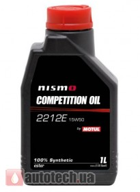 Motul Nismo Competition Oil 2212E 15W-50 1 л.