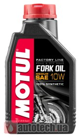 Motul Fork Oil Medium Factory Line 10W 1 л.