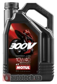 Motul 300V 4T Factory Line Road Racing 10W-40 - Фото 2
