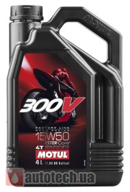 Motul 300V 4T Factory Line Road Racing 15W-50 - Фото 2