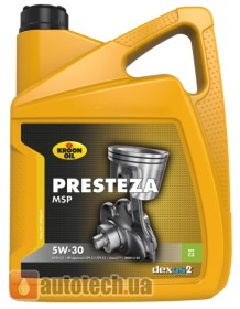 Kroon Oil Presteza MSP 5W-30 5 л. - Фото 2