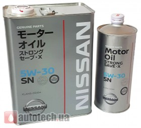 NISSAN Strong Save X 5w-30 4 л.