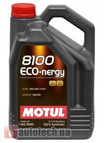 Motul 8100 Eco-nergy 5W-30 5 л. - Фото 2