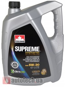 Petro-Canada Supreme Synthetic 5W-30 5 л - Фото 3